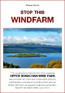 Upper Sonachan Wind Farm Leaflet